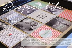 By Teneale Williams | Project Life By Stampin' Up! Moments Like These Card Collection