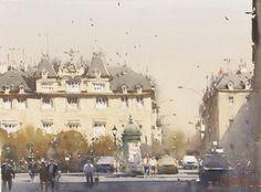 Afternoon, Vienna, Joseph Zbukvic