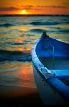 Mare al tramonto.