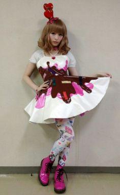 Kyary Pamyu Pamyu #Fashion #Jpop #Lolita                                                                                                                                                      More