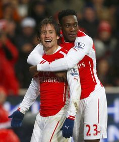 Tomas Rosicky and Danny Welbeck