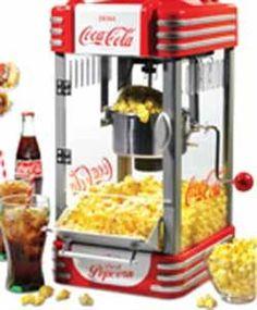 Nostalgia Electrics Coca-Cola Tabletop Popcorn Maker