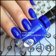 Sally Hansen Miracle Gel Tidal Wave. ©imabeautygeek.com