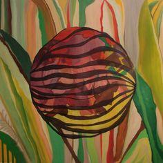 """""""Parece que siempre vuelve a casa""""  oil on canvas  150x150cm  2013"""