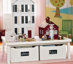 Activity Table U0026 Carts Collection | Pottery Barn Kids