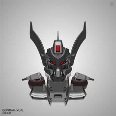 #gundam #vector #mobilesuit #mecha #plamo #gunpla #hobby #ironblooded #ironbloodedorphans #tekkadan #vual  Gundam Vual ASW-G-47
