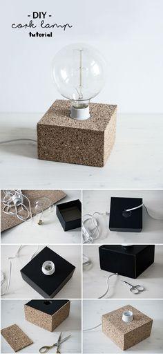 Lampe DIY