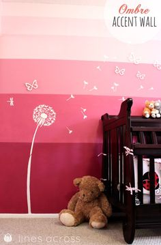 For the daughter that is to come. :)    Ombre Tips and Design Ideas | The 36th AVENUE