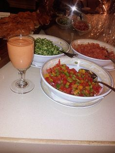 Gazpacho! The famous cold Spanish food!
