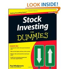 Stock Investing For Dummies: Paul Mladjenovic