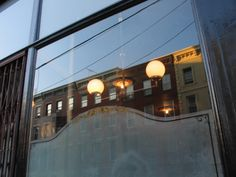 hotel delmano Glass Signage, Brooklyn, Exterior, Windows, Lighting, Light Fixtures, Lights, Lightning, Window