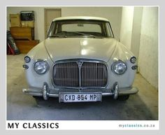 Classic Car For Sale: 1965 Rover Mark 11 3litre ($6600)