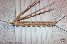 МК «Большая плетёная корзина» – HandMade39.ru