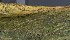 (Click for more detailed pictures)  Mustering the Troops: First pictures of massive Gallipoli diorama at The Great War Exhibition in Wellington, New Zealand