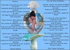 CHEIROS... SANDRA E DELY NA ARTE DE SAFIRA. - Encontro de Poetas e Amigos