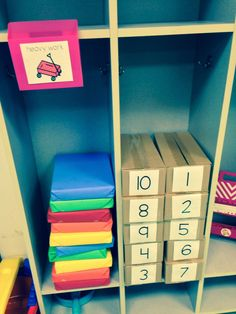 Teaching Special Thinkers: Heavy Work. Matching and heavy work at the same time but need the room for those cupboards