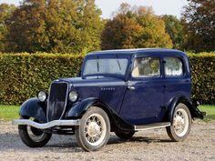 1933 Ford Model-Y Tudor Saloon