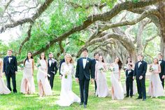 Dana Cubbage Weddings | Charleston SC Wedding Photography | Erin + Chase // Elegant Blush, White + Gold Wedding at Boone Hall Plantation