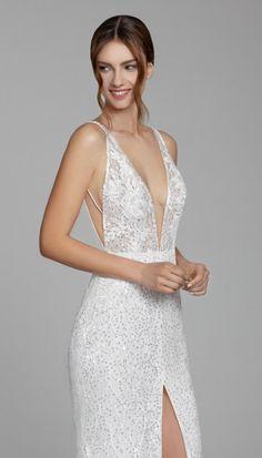 Courtesy of Tara Keely by Lazaro Wedding Dresses from JLM Couture; www.jlmcouture.com/tara-keely-lazaro