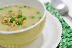 PANELATERAPIA - Blog de Culinária, Gastronomia e Receitas: Creme de Batata com Frango e Ervilha