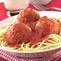 Mama's Best Ever Spaghetti & Meatballs | Spoonful