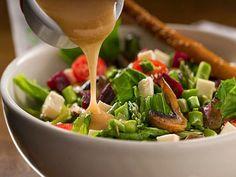 Weils Healthy Kitchen, vinaigrette, Balsamic Vinaigrette Gimme Some Oven. Vinegar Salad Dressing, Salad Dressing Recipes, Salad Recipes, Vinaigrette Dressing, Salad Dressings, Healthy Salads, Healthy Dinner Recipes, Healthy Eating, Healthy Foods