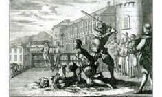 La décapitation : la peine des nobles