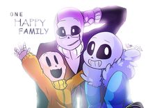 GZtale - One Happy Family by xX-AirinNix-Xx on DeviantArt