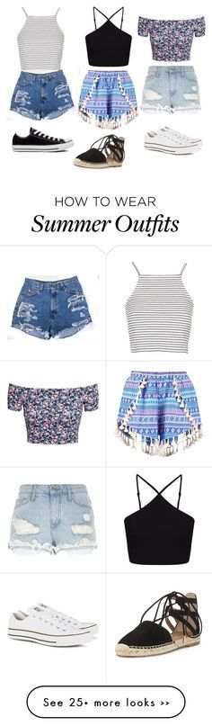 Summer outfits!! Easy to Try When You Truly Hate Your Closet.