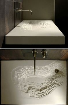 The Erosion Sink from Gore Design francesgaffney