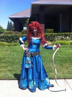 Merida Version B Brave Inspired Costume Adult Screen by Bbeauty79, $899.95