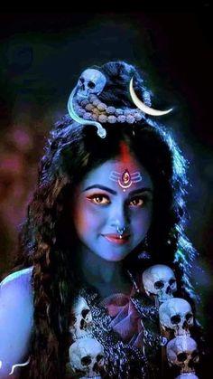 Indian Goddess Kali, Saraswati Goddess, Kali Goddess, Shakti Goddess, Kali Hindu, Durga Kali, Shiva Parvati Images, Durga Puja