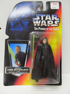 Star Wars 1999 Kenner Potf 2 Darth Vader /& Lightsaber ~ Dagobah Encounter