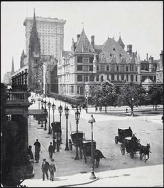 The NewYorkologist: Vanderbilt Mansion at Fifth Avenue and 59th Street, New York, 1900