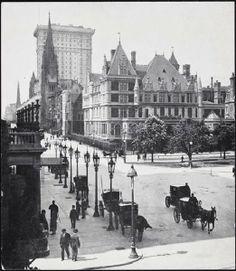 The NewYorkologist: Vanderbilt Mansion at Fifth Avenue and 59th Street, New York, 1900