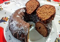 "Karácsonyi ""mézeskalács"" kuglóf recept foto No Bake Desserts, Xmas, Christmas, Muffin, Bread, Baking, Breakfast, Recipes, Food"