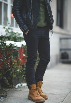 Timberland's x Black Jeans