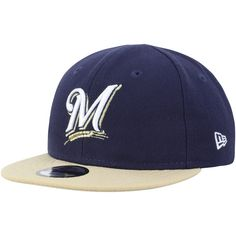 brand new 8e3ef 38abe Infant Milwaukee Brewers New Era Navy My First 9FIFTY Adjustable Hat, Your  Price   21.99