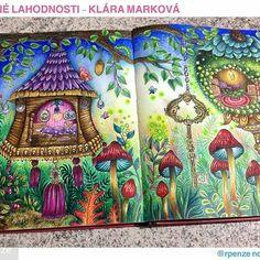 @Regrann #wonderfulcoloring from @rpenze -  Mais um queridinho concluído uhuuuuu... Klára Marková , Mirtes C. Pessoa muito obrigada pelo lindo livro, colori com muito prazer❤️ #regrann