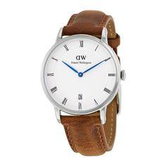 Daniel Wellington Women's DW00100114 Dapper Durham Brown Leather Watch