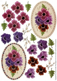 ANEMONES - 3D toppers