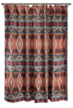 Marvelous Mojave Shower Curtain
