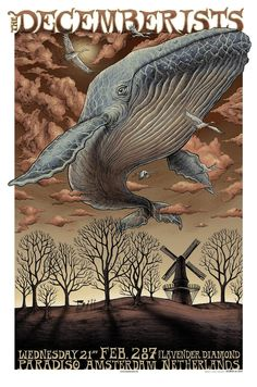 Decemberists poster by Emek