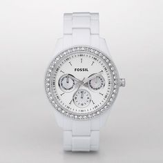Fossil Stella Watch. $95... I need this....obsessed with watches