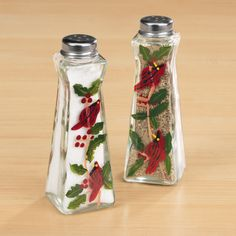Cardinal Salt And Pepper Shakers - Zoom - Zoom