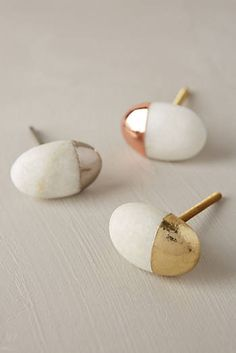 I want a bunch of mismatched rock knobs for when I redo the kitchen - Stonecutter Knob