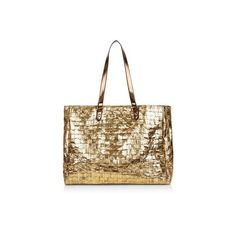 New Look Gold Woven Straw Shopper Bag ($25) ❤ liked on Polyvore featuring bags, handbags, tote bags, gold, woven handbags, gold purse, shopping bag, shopping tote and shopping tote bags