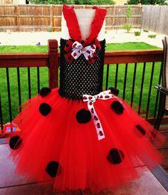 Ladybug tutu dress by AllysTutuBoutique on Etsy, $25.00
