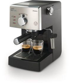 Best Espresso Machines Comparison 2015   CrowdBest.com • Saeco HD8325/47 Poemia Class Manual Espresso Machine, Black #espresso