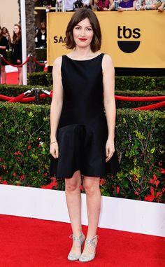 Kelly Macdonald in Moschino- 2015 SAG Awards